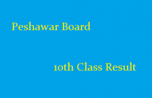 Bise Peshawar Board 10th Class Result