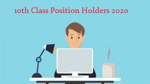 Mardan Board 10th Class Position Holders 2020