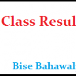 Bahawalpur Board 9th Class Result 2019 search by name