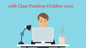 Gujranwala Board 10th Class Position Holders 2020