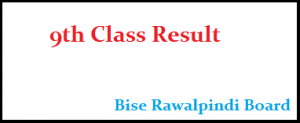 rawalpindi board 9th class result 2019 search by name