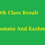 Jammu And Kashmir 10th class result