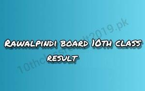 10th Class Result 2020 Rawalpindi Board