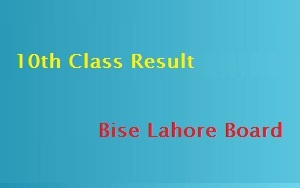 10th Class Result 2021 Lahore Board by name roll no